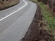 Loss of verge on Hatherton bends N of Crewe Rd jcn