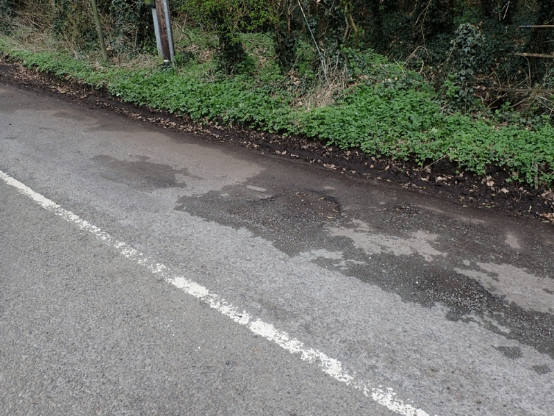 Hunsterson Road surface water