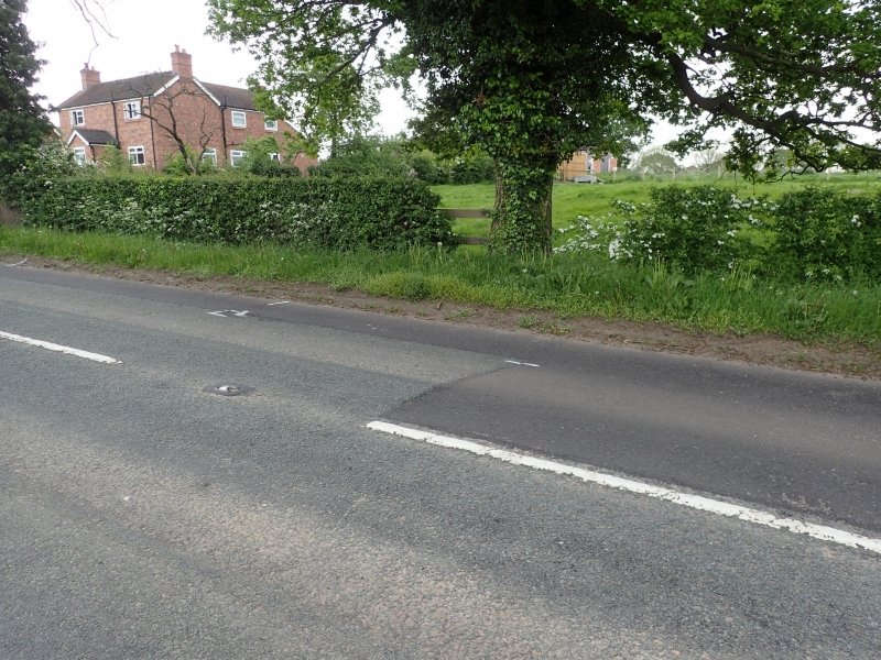 Road damage A51